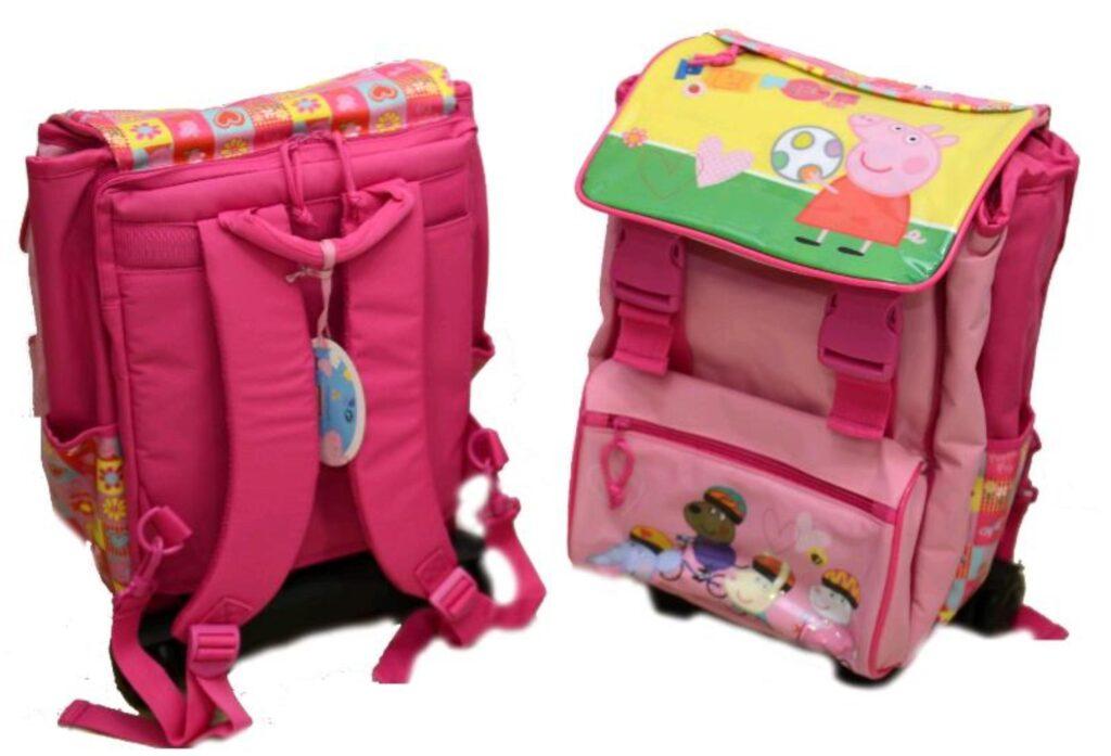 Peppa Pig Zaino trolley estensibile PEP140852