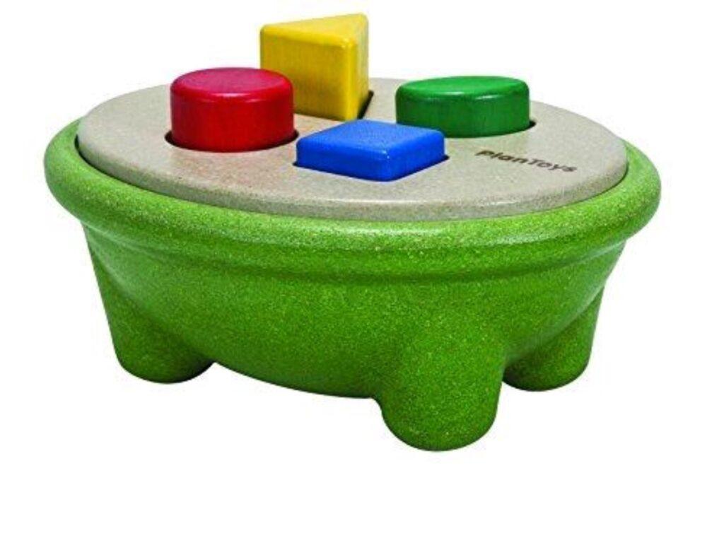 """Gioco per bambini in legno didattico"""" abbina le forme"""" - Plan Toys"""
