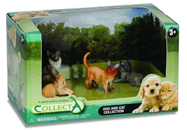 CollectA Cats and Dogs Figure Open Boxed Set (4 pezzi)