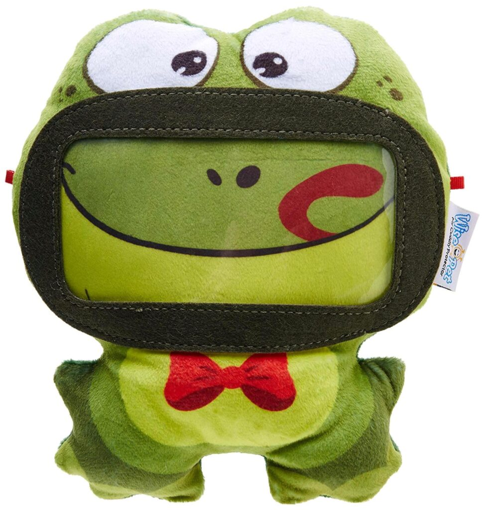 Wise Pet 900203 - Mini-Frog Cuddly Toy per Smartphones