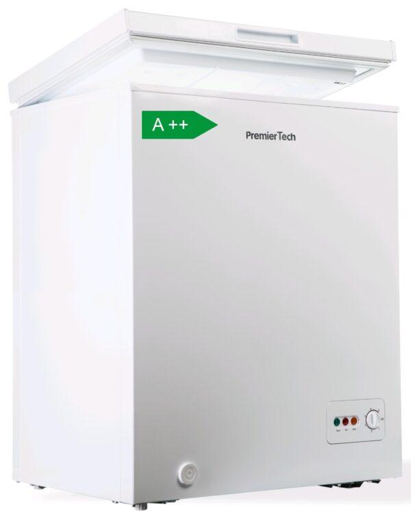 Congelatore a Pozzetto 100 litri con cestello e ruote -24°gradi A++ 4**** Stelle PremierTech PT-CP100
