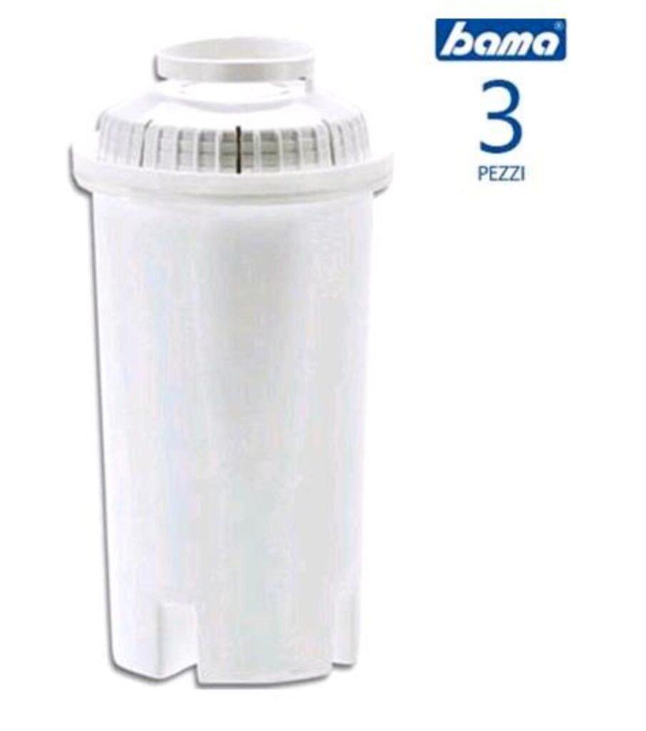 Bama 3 Filtri per Caraffa Filtrante d'acqua Kyara 150 litri x 3  45250