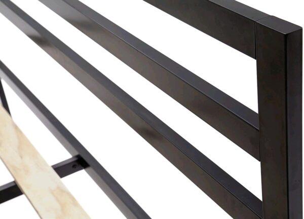 Struttura Letto Matrimoniale in Metallo 203 x 140 x 97 cm - Robas Lund